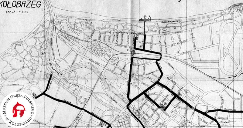 Najstarsza Mapa Kolobrzegu